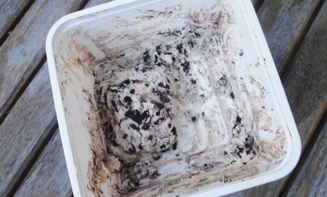 Oreo cookie semi freddo