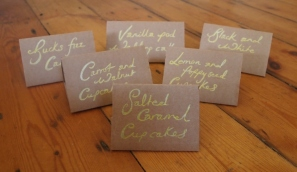 Flavour cards